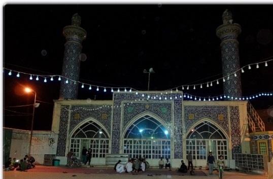 گرامی داشت شهدای ۱۹ آبان در مسجد شهیدان دوگنبدان