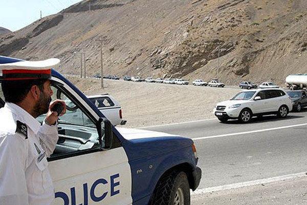 گشتهای محسوس و نامحسوس پلیس راه در جاده های استان