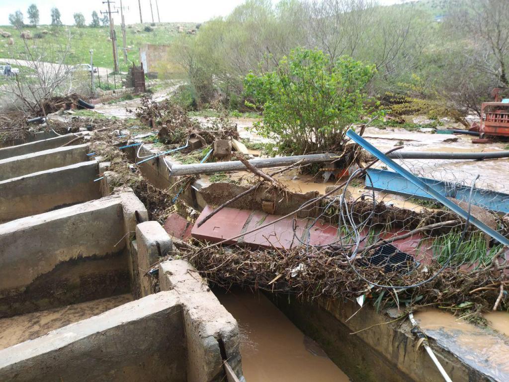 خسارت ۲ هزار میلیارد ریالی سیلاب به بخشهای اقتصادی