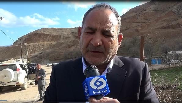 بازدید نماینده مردم از محور مسدود سرفاریاب به یاسوج