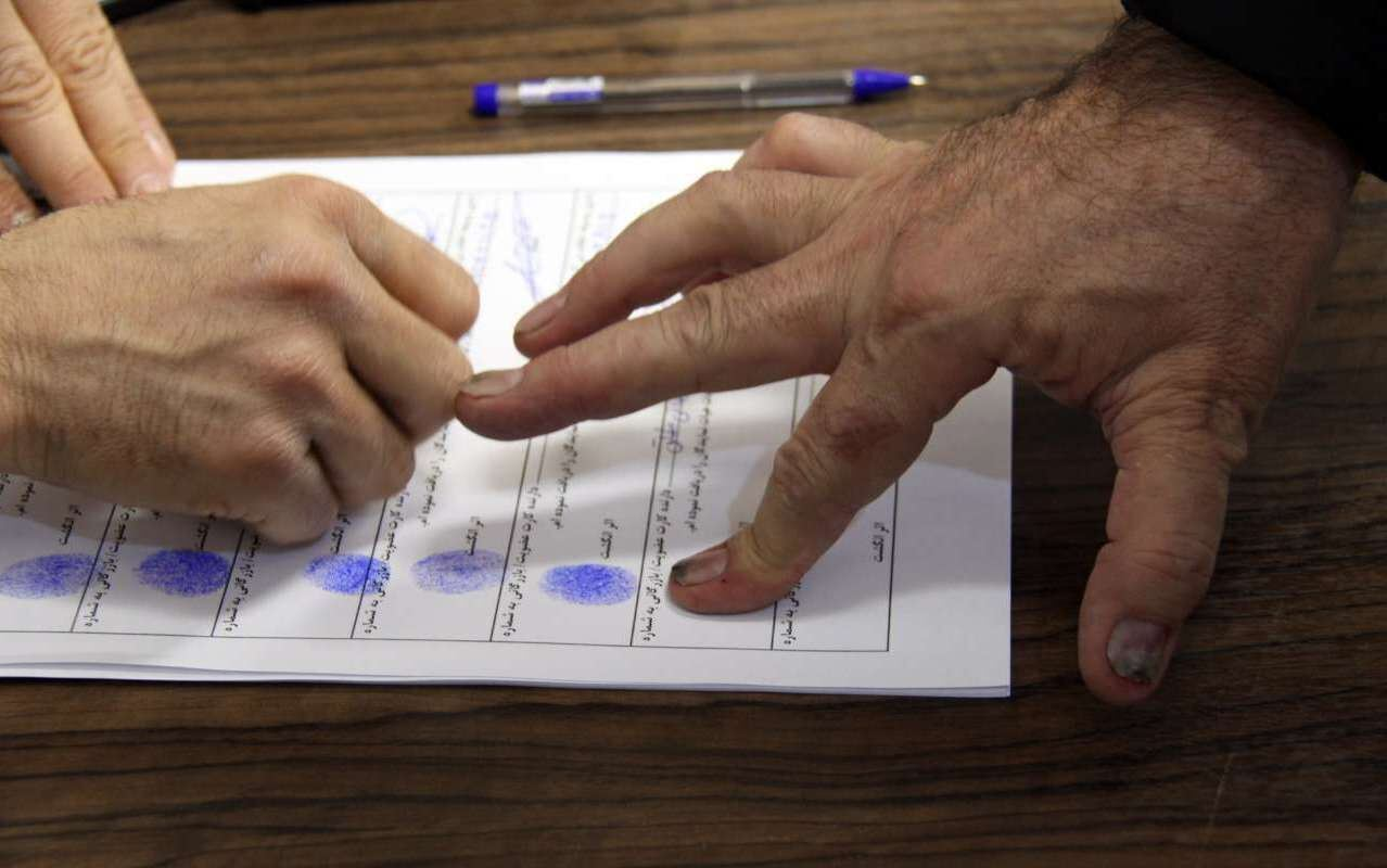 الزامی نبودن درج اثرانگشت در شعب اخذ رای